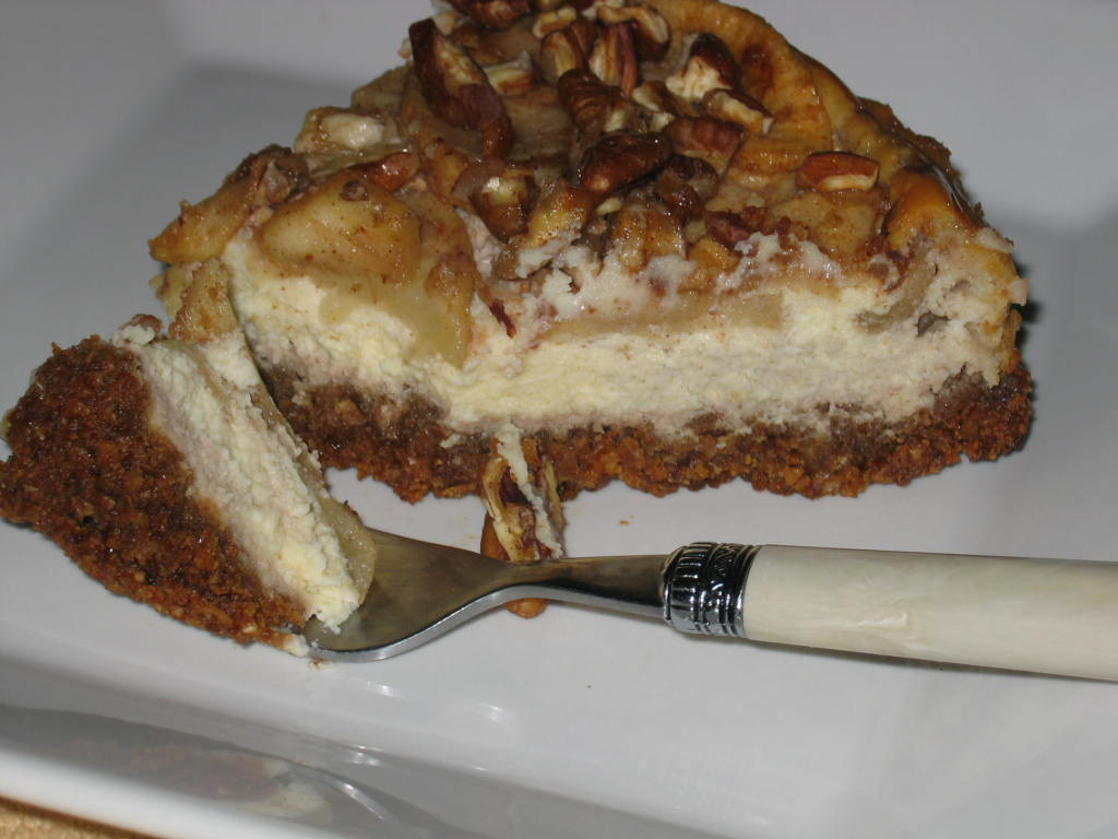 ... apple pecan cheesecake adapted caramel apple pecan cheesecake
